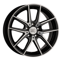 1000 Miglia MM041 6,5x16 5x112 ET 42 Dia 57,1 (black polished)