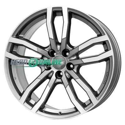 Диски Alutec Drive 8,5x19 5x112 ET 28 Dia 66,5 (metal grey front polished)