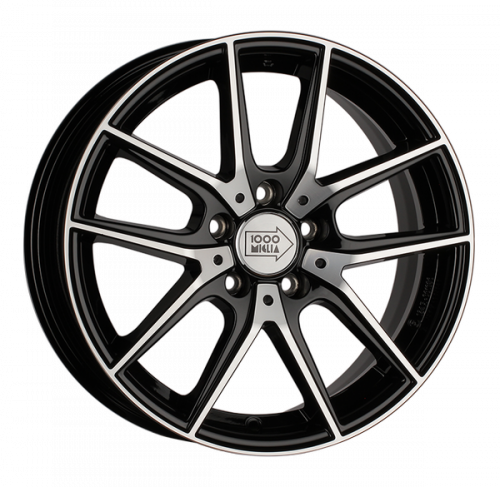 Диски 1000 Miglia MM041 6,5x16 5x112 ET 42 Dia 57,1 (black polished)