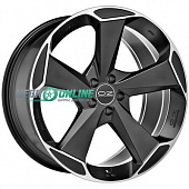 Литой диск OZ Racing Aspen HLT 10x20 5x112 ET 53 Dia 79 (matt black + diamond cut)