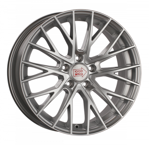 Диски 1000 Miglia MM1009 8x18 5x112 ET 45 Dia 66,6 (silver high gloss)