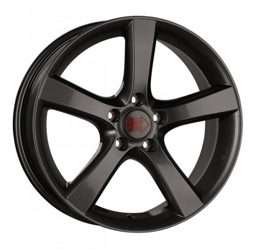 Диски 1000 Miglia MM1001 8x18 5x108 ET 40 Dia 67,1 (dark anthracite high gloss)