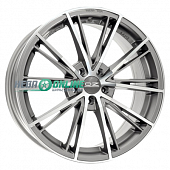 Литой диск OZ Racing Envy 7x17 4x98 ET 37 Dia 68 (matt silver tech diamond cut)