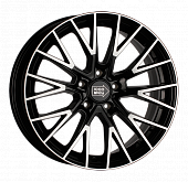 Литой диск 1000 Miglia MM1009 9x20 5x114,3 ET 40 Dia 72,6 (gloss black polished)